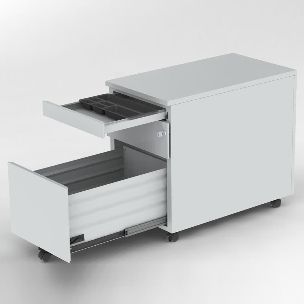 Tirette plumier pour caisson mobile armoire plus - Caisson scrigno prix ...