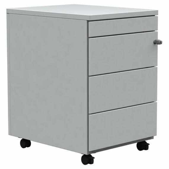 caisson-mobile-3-tiroirs-gris-tirette-plumier