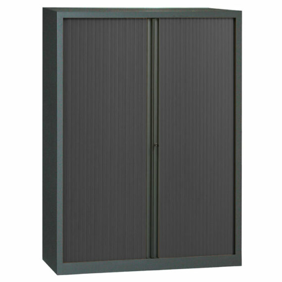 armoire a rideaux anthracite 198x140
