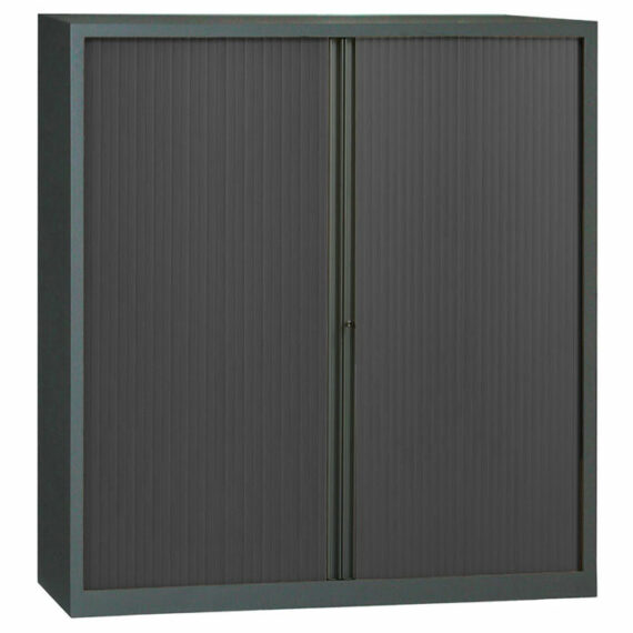 armoire a rideaux anthracite 198x180