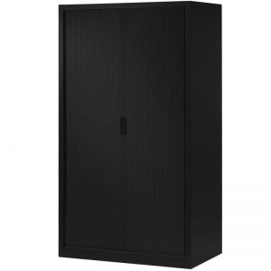 armoire a rideaux anthracite erable