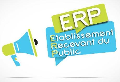 Logo ERP Etablissement recevant du public