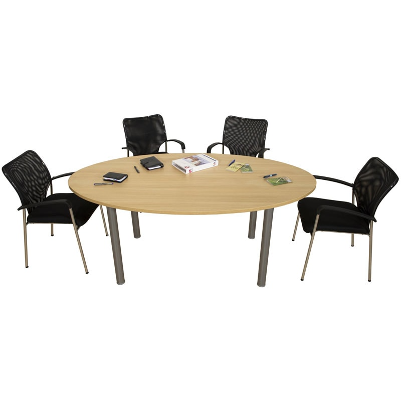 Table de r union 4 6 personnes ligne plus armoire plus for Table 6 places