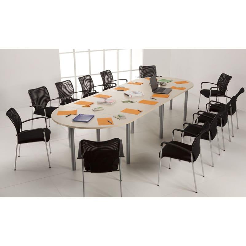 Table de reunion oblongue 12 places et 11 pieds
