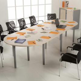 table de reunion avec chaises