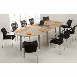 table de r union de 4 18 personnes armoire plus. Black Bedroom Furniture Sets. Home Design Ideas