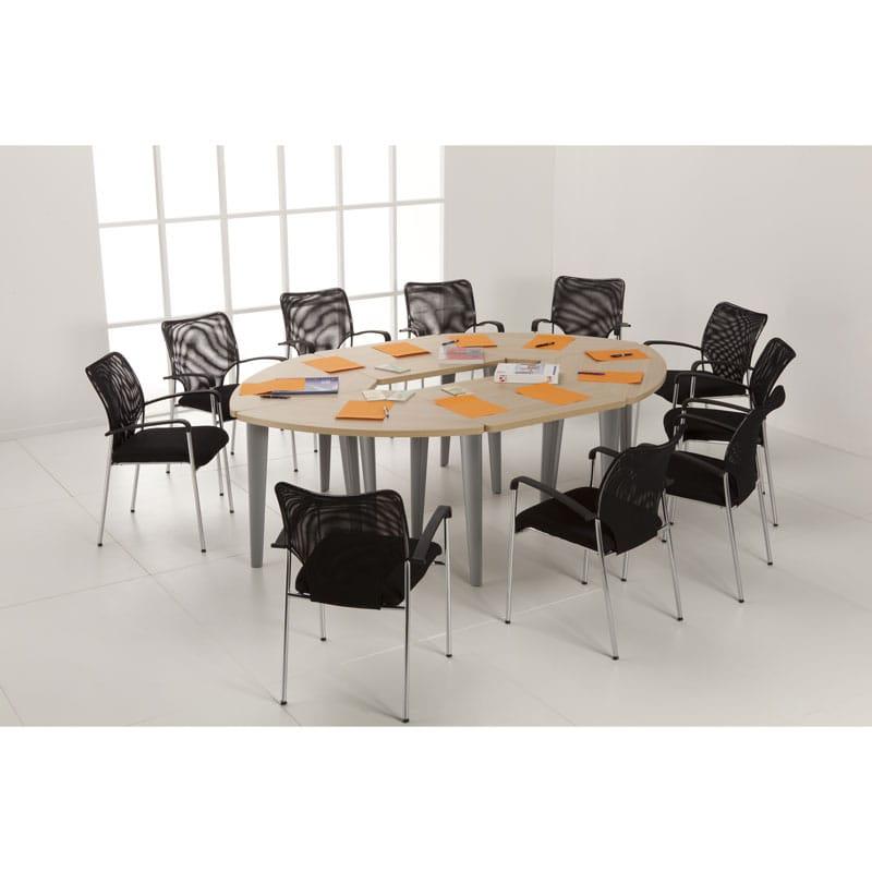 table de r union 8 12 personnes ligne l gance armoire plus. Black Bedroom Furniture Sets. Home Design Ideas