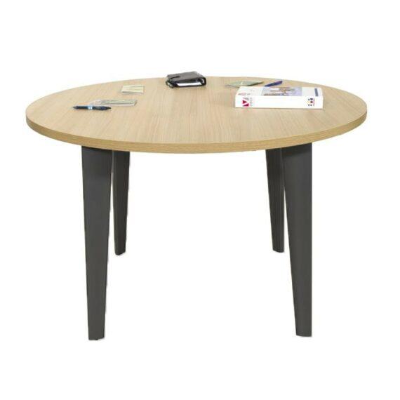 table-reunion-ronde-diametre-120-cm-ligne-elegance-4-pieds-anthracite-chene