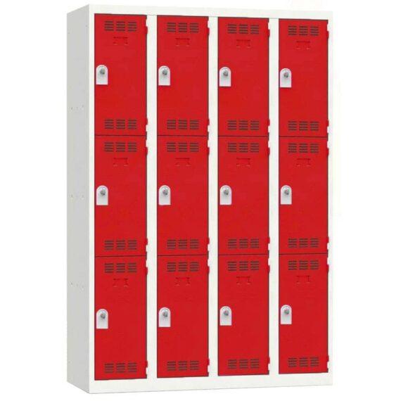 vestiaire-multicases-12-cases-rouge-moraillon-largeur-120-cm