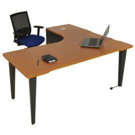 bureau-asymetrique-ligne-elegance-avec-caisson-hauteur-bureau-anthracite-merisier
