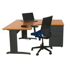 bureau-compact-symetrique-90-ligne-plus-avec-caisson-hauteur-bureau--anthracite-merisier