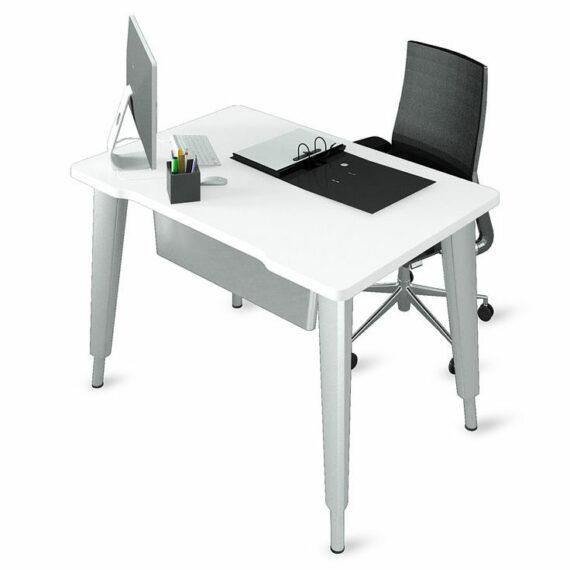 bureaux-droits-ligne-elegance-reglable-en-hauteur-aluminium-blanc