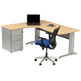 caisson-asymetrique-ligne-plus-aluminium-chene-clair-avec-caisson-hauteur-bureau