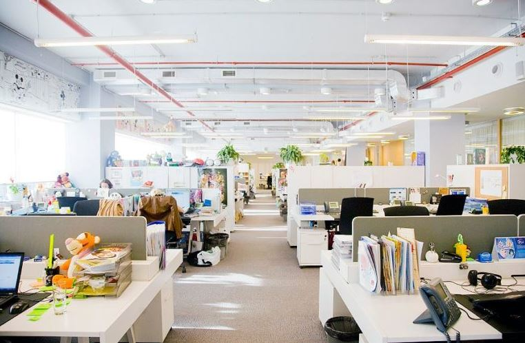 Bureaux open space reduire le bruit