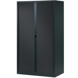 armoire a rideaux anthracite 198x120
