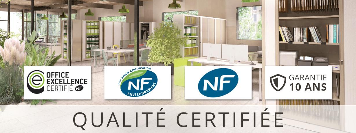 Certification NF, NF Environnement, Office Excellence Certifié