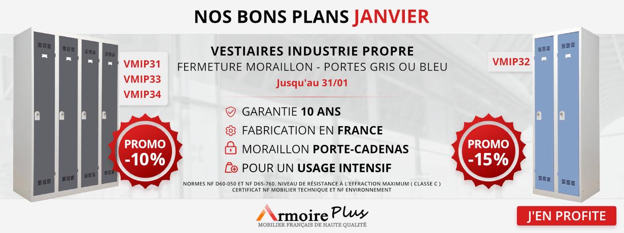 Promo Janvier : Vestiaires Industrie Propre